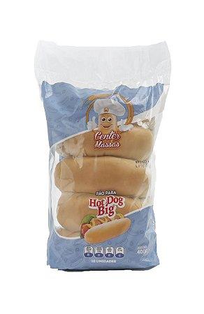 Pão Hot Dog Big Center Massas 400g
