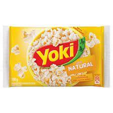 Milho para Pipoca de Microoondas Natural Yoki 100g