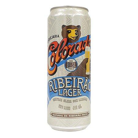 Cerveja Colorado Ribeirão Lager Lata 410ml