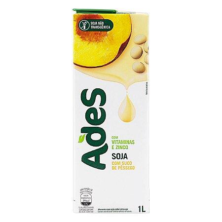 Bebida à Base de Soja Ades Sabor Pêssego 1L