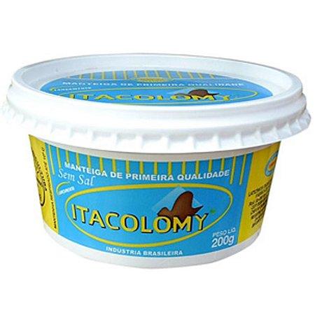 Manteiga Itacolomy sem sal 200g