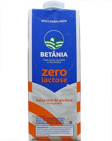 Leite Longa Vida Betânia Zero Lactose 1L
