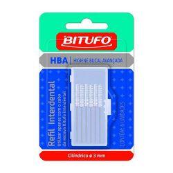 Refil Interdental Bitufo Cilíndrico 3mm com 6 und