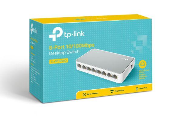Hub Switch 8 Portas Tp-Link 10/100