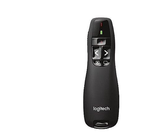 Apresentador Logitech com laser R400