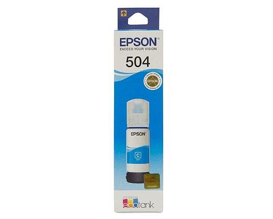 Refil Epson 504 Ciano T504220 (Bulk)