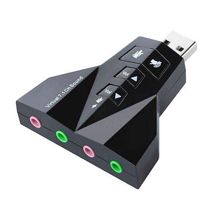 Adaptador De Audio Usb X P2