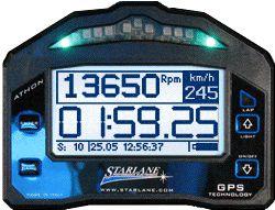 Lap Time Starlane Athon GPS