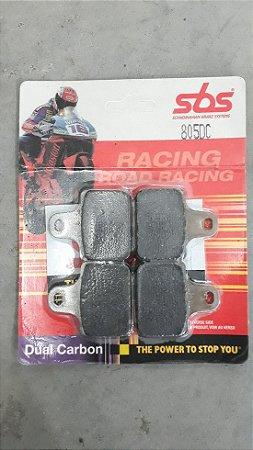 Jogo de Pastilhas de freio dianteira para Pinça Racing SBS - 805DC