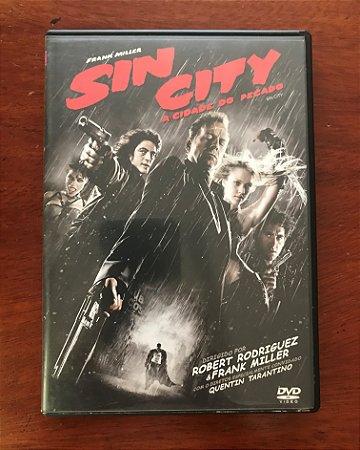 """DVD filme """"Sin City"""" [USADO]"""