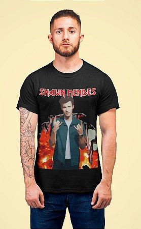 Camiseta Shawn Mendes Heavy Metal