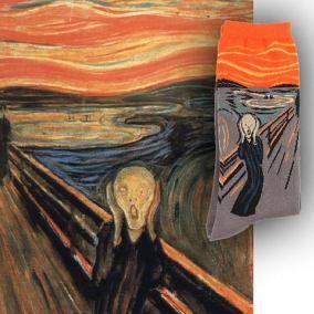 Meia   O Grito - Edvard Munch