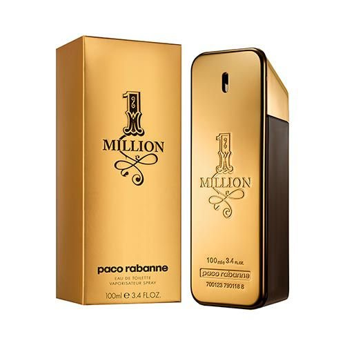 Perfume Masculino 1 Million Eau De Toilette 100ml - Paco Rabanne