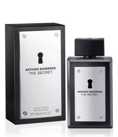 Perfume Masculino The Secret Eau De Toilette 100ml - Antonio Banderas