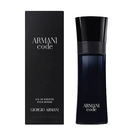 Perfume Masculino Armani Code Eau De Toilette 125ml - Giorgio Armani