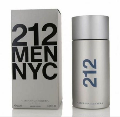 Perfume Masculino 212 Men NYC Eau De Toilette 200ml - Caroline Herrera