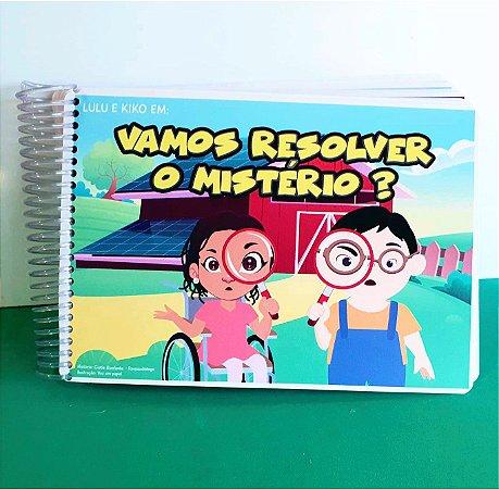 Livro Interativo: Vamos resolver o mistério ?