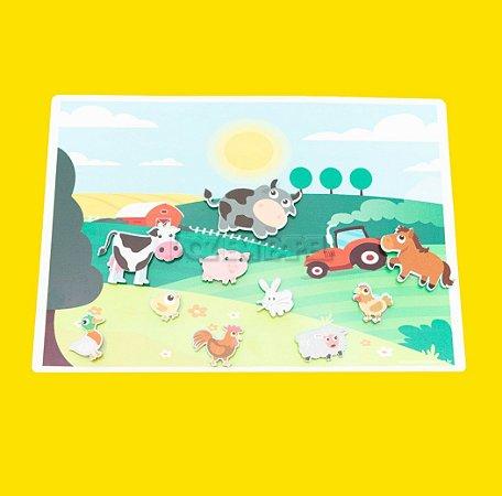 Cenário da Fazenda