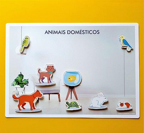 Cenário Animais Domesticos