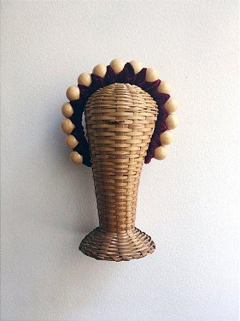 Coroa Madalena - marfim e vinho