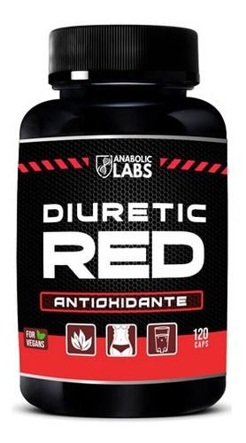 DIURETIC RED 120CAPS - ANABOLIC LABS