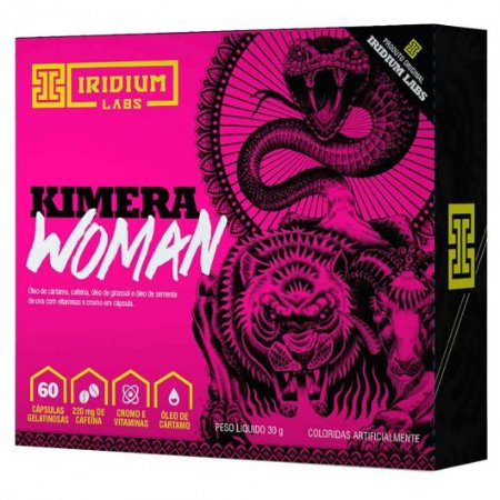 KIMERA WOMAN ( FEMININO ) 60 CAPS - IRIDIUM LABS