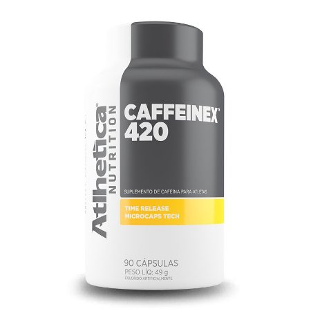 CAFFEINEX 420MG 90CAPS - ATHLETICA NUTRITION