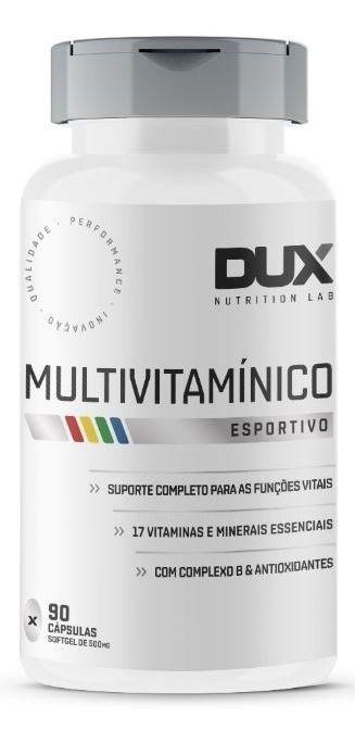 MULTIVITAMÍNICO ESPORTIVO 90CAPS - DUX NUTRITION
