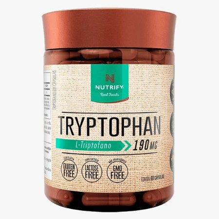 TRIPTOFANO 60 CAPS - NUTRIFY