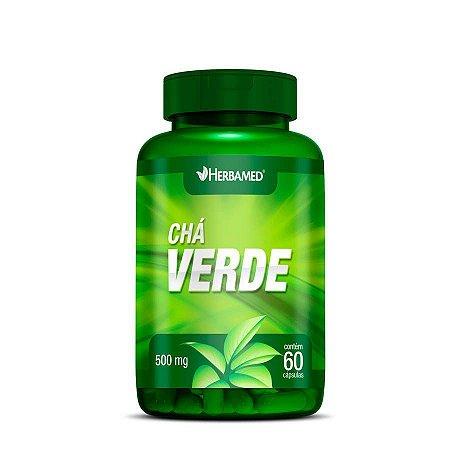 CHA VERDE 60 CAPS - HERBAMED