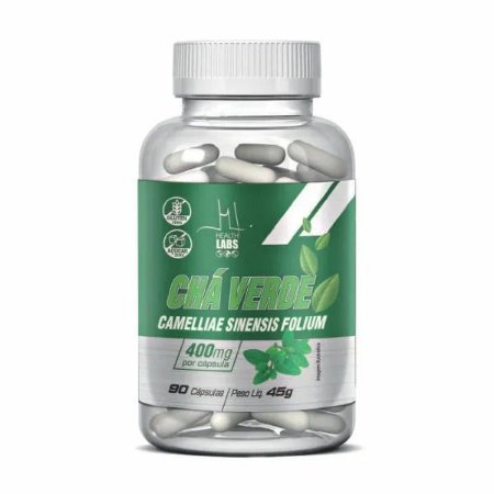 CHA VERDE 90 CAPS 400MG - HEALTH LABS