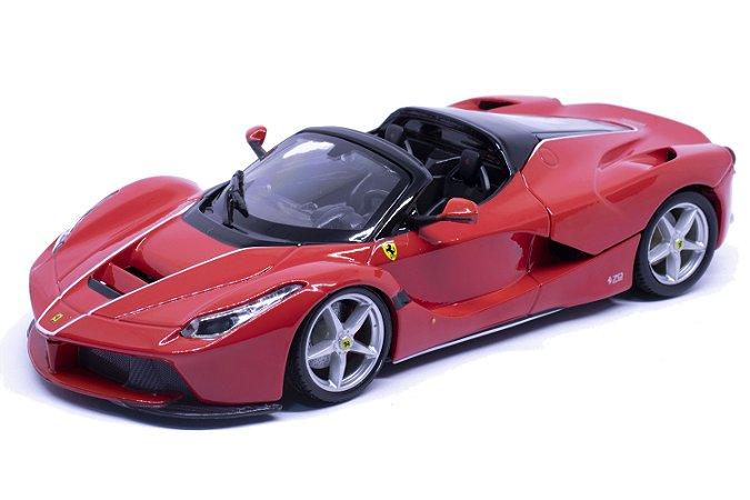 La Ferrari Aperta Vermelha - Bburago 1:24