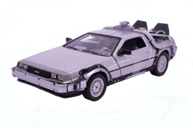 Delorean De Volta Para o Futuro (Back to the Future 1) - Welly 1:24