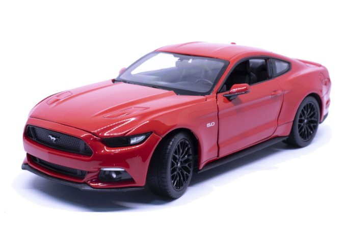 Ford Mustang GT 2015 Vermelho - Welly 1:24