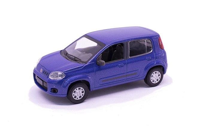 Fiat Uno 2012 Azul - Norev 1:43
