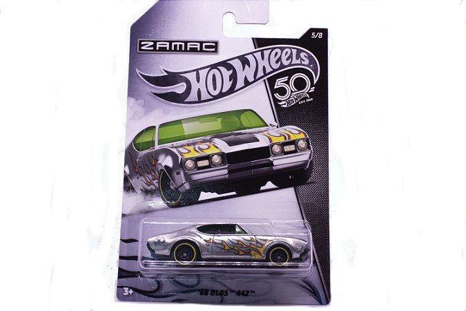 Carrinho Hot Wheels Zamac 68 Olds 442 - FRN23 Mattel
