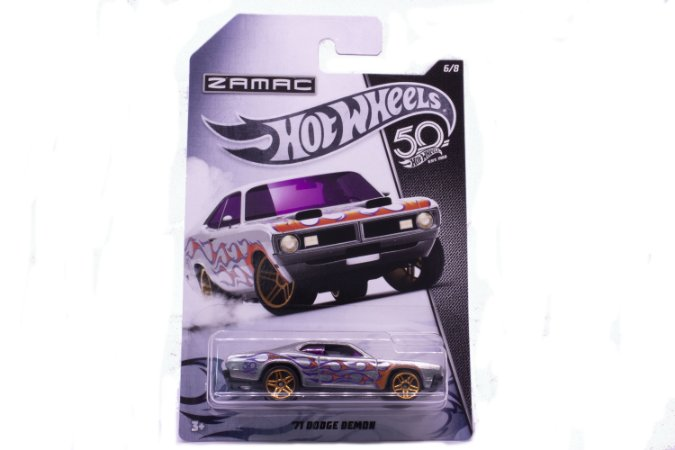 Carrinho Hot Wheels Zamac 71 Dodge Demon - FRN23 Mattel