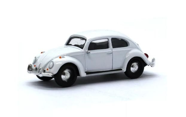 Volkswagen Fusca (Beetle) Branco - California Collectibles - Greenlight 1:64