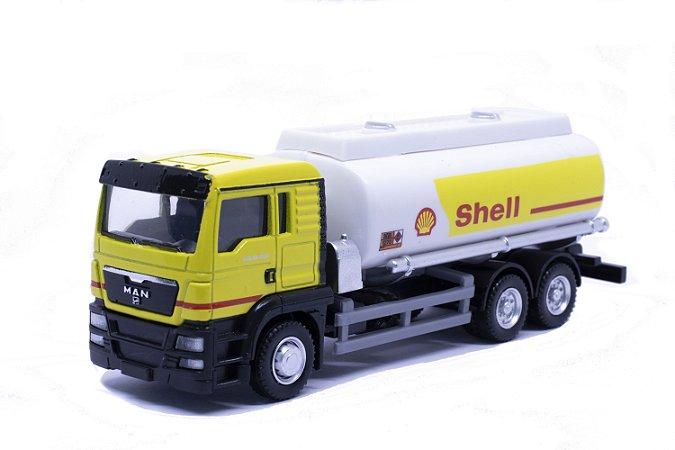 Caminhão Tanque Man TGS Shell - California Junior 1:64