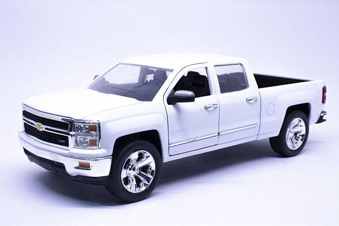 Chevy Silverado 2014 Branca - Jada 1:24