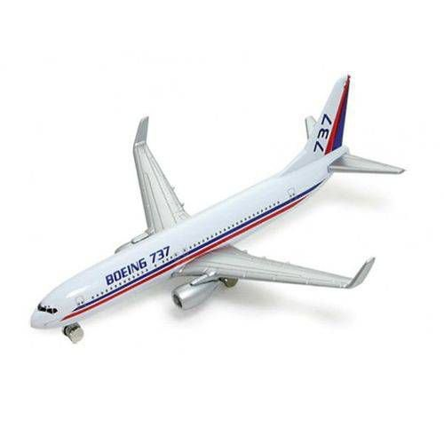 """Avião Comercial Boeing 737 - Welly 5/6"""""""