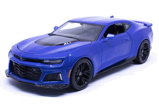 Chevrolet Camaro ZL1 2017 Azul - Maisto 1:24