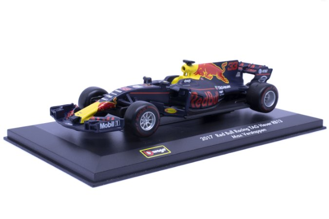 Formula 1 F1 Red Bull Racing Tag Heuer RB13 - #33 Max Verstappen (2017) - Burago 1:32