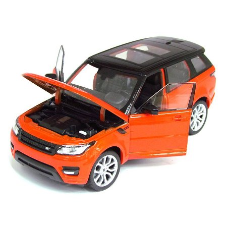 Land Rover Range Rover Sport Laranja - Welly 1:24