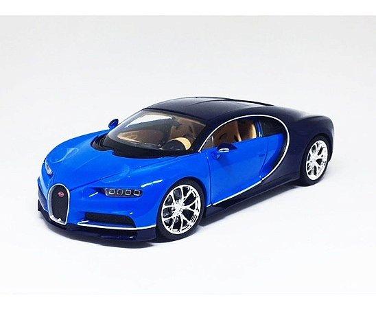 Bugatti Chiron Azul - Welly 1:24
