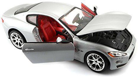 Maserati Gran Turismo Prata - Bburago 1:24