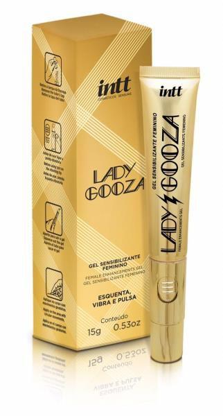 LADY GOOZA - Gel Estimulante com Vibrador Incluso