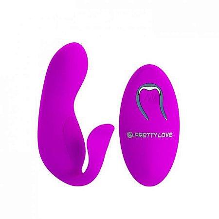 TYLER - Vibrador para Casal com Controle Remoto e 12 Programas de Vibração