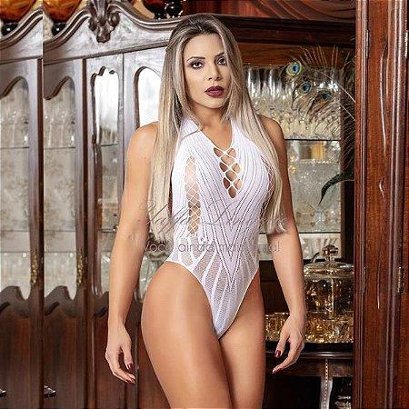 BODY FRENTE ÚNICA - BRANCO - Y1060 WHITE