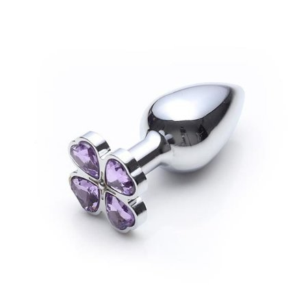 LUST METAL - PLUG FLOWER DIAMOND SILVER - PRATA - LM010